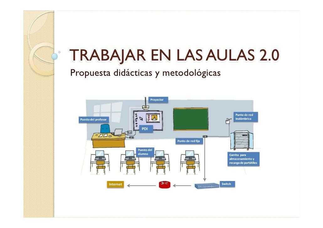 TRABAJAR EN LAS AULAS 2.0Propuesta didácticas y metodológicas