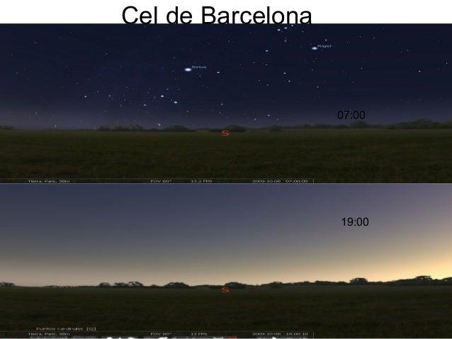 Cel de Barcelona 19:00 07:00