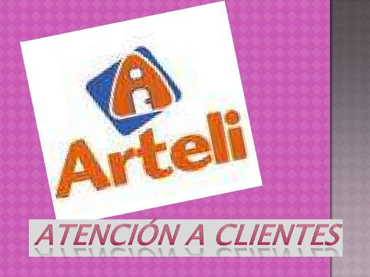 Atención a clientes<br />
