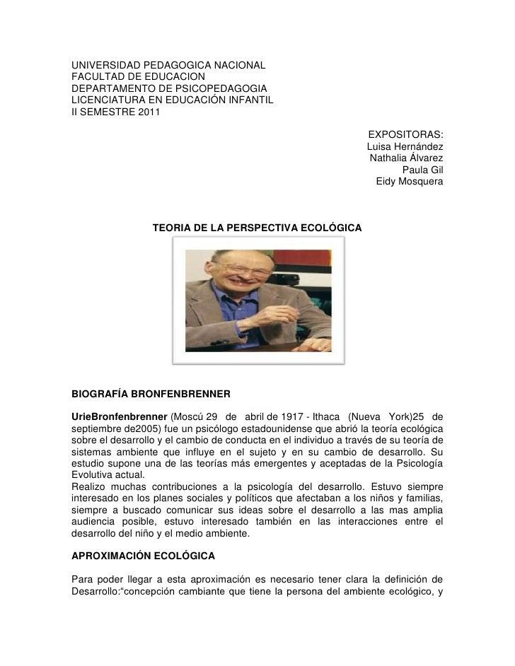 UNIVERSIDAD PEDAGOGICA NACIONAL<br />FACULTAD DE EDUCACION<br />DEPARTAMENTO DE PSICOPEDAGOGIA<br />LICENCIATURA EN EDUCAC...