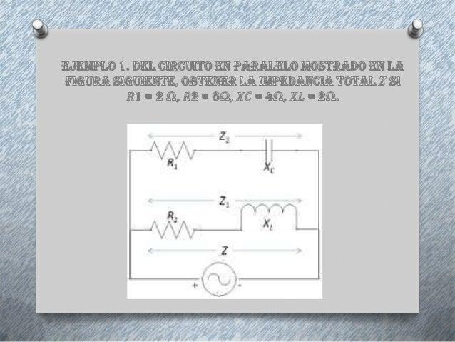 Circuito En Paralelo Ejemplos : Aplicaciones de los numeros complejos a la electricidad