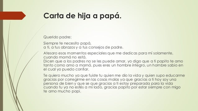 carta a papa