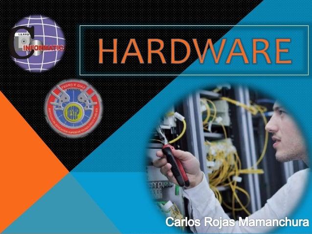 HARDWARE: El hardware es la parte física de cualquier dispositivo y maquina que exista, no obstante hablando de computador...