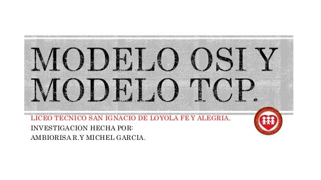 LICEO TECNICO SAN IGNACIO DE LOYOLA FE Y ALEGRIA. INVESTIGACION HECHA POR: AMBIORISA R.Y MICHEL GARCIA.