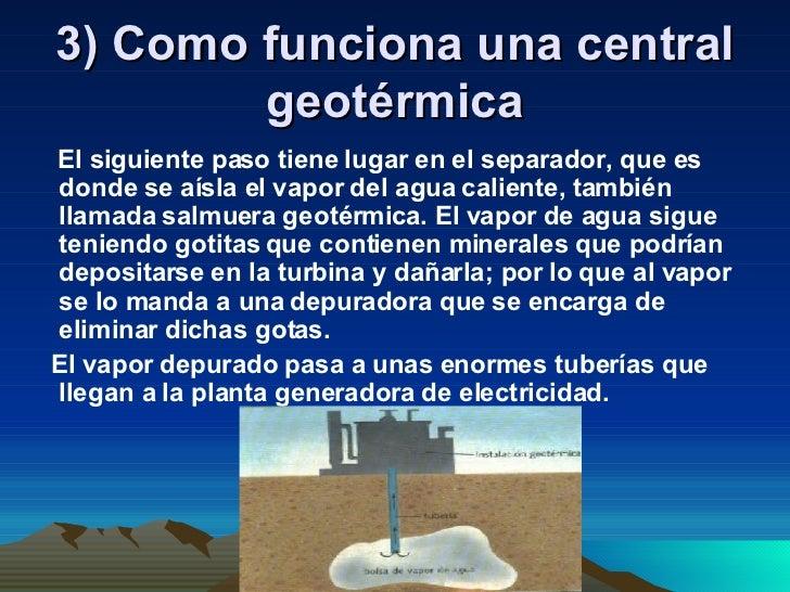 Trabajo energia geotermica - En que consiste la energia geotermica ...