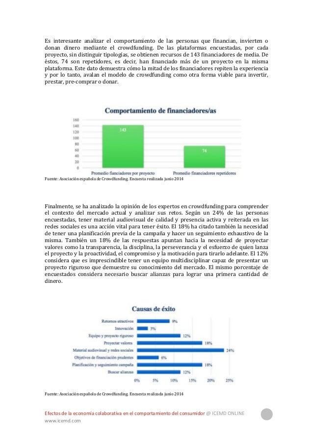 Efectos de la economía colaborativa en el comportamiento del consumidor @ ICEMD ONLINE www.icemd.com 19 Otras acciones a t...