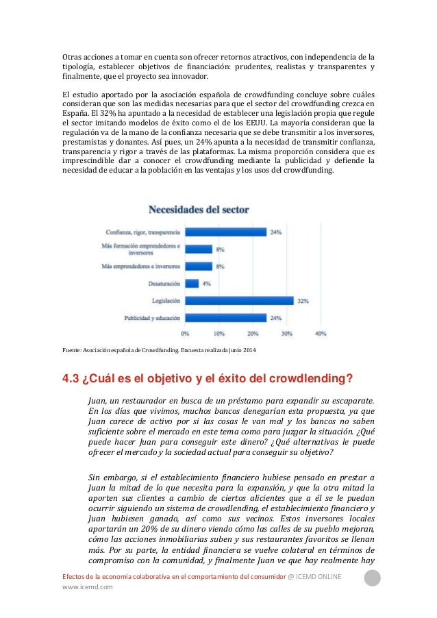Efectos de la economía colaborativa en el comportamiento del consumidor @ ICEMD ONLINE www.icemd.com 20 un mercado para su...