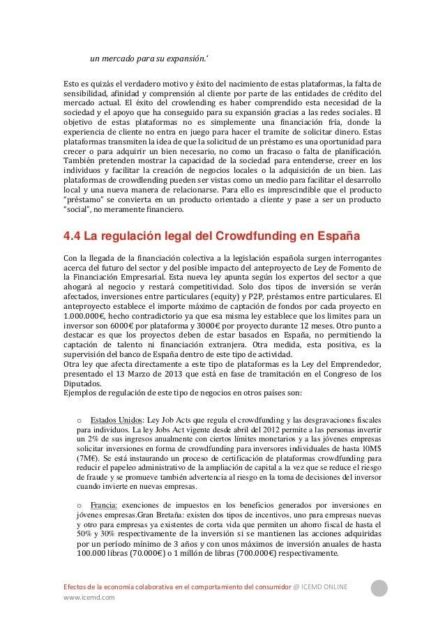 Efectos de la economía colaborativa en el comportamiento del consumidor @ ICEMD ONLINE www.icemd.com 21 o Países Bajos: ex...