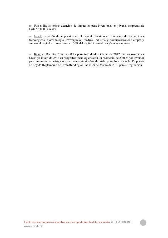 Efectos de la economía colaborativa en el comportamiento del consumidor @ ICEMD ONLINE www.icemd.com 22 5.Enfoque práctico...