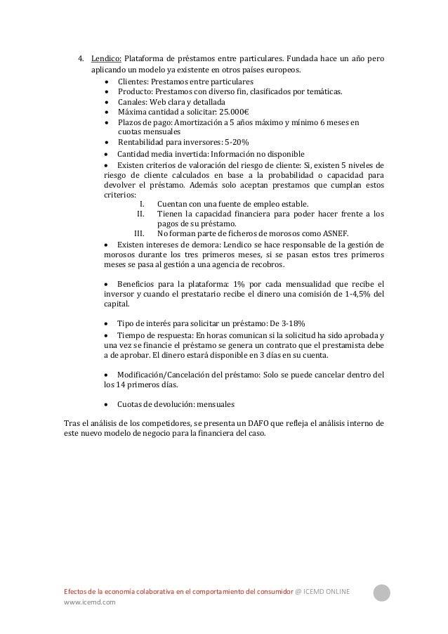 Efectos de la economía colaborativa en el comportamiento del consumidor @ ICEMD ONLINE www.icemd.com 29 DAFO Nuevo modelo ...