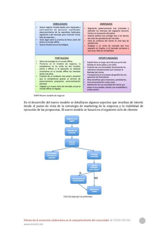 Efectos de la economía colaborativa en el comportamiento del consumidor @ ICEMD ONLINE www.icemd.com 30 Ciclo de solicitud...