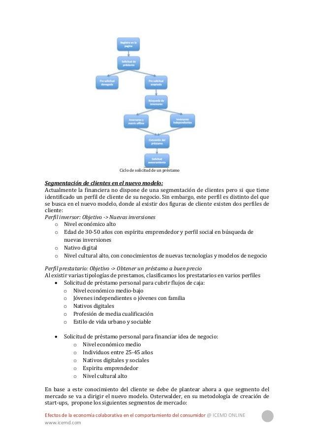 Efectos de la economía colaborativa en el comportamiento del consumidor @ ICEMD ONLINE www.icemd.com 31  Masas: Este segm...