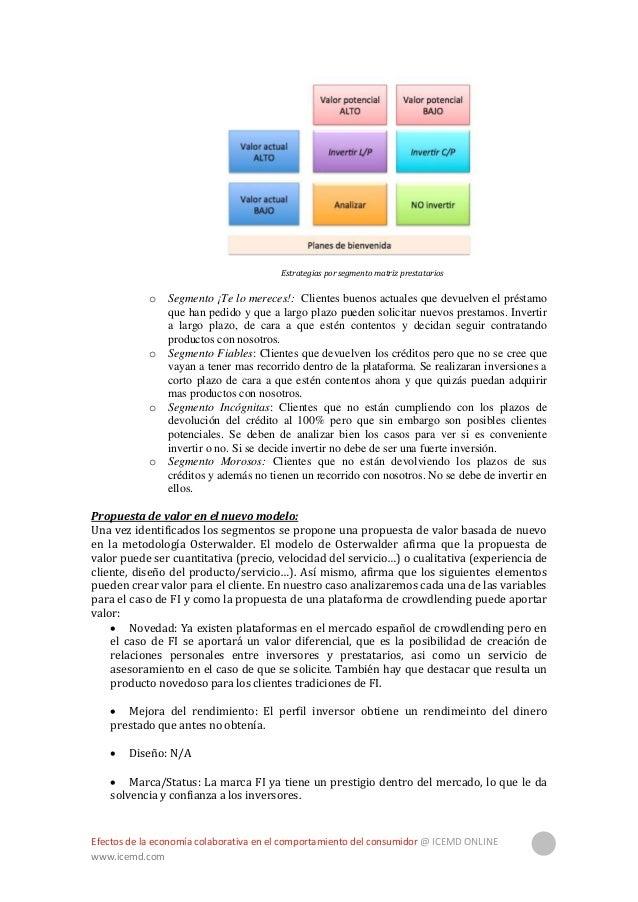 Efectos de la economía colaborativa en el comportamiento del consumidor @ ICEMD ONLINE www.icemd.com 35  Precio: El clien...