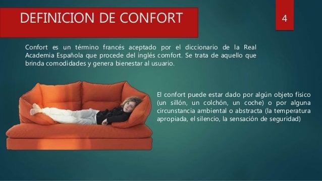 El confort for Cual es el significado de arquitectura