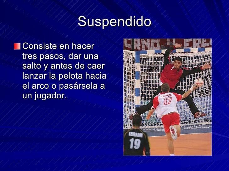 TECNICAS DE HANBALL! Slide 2