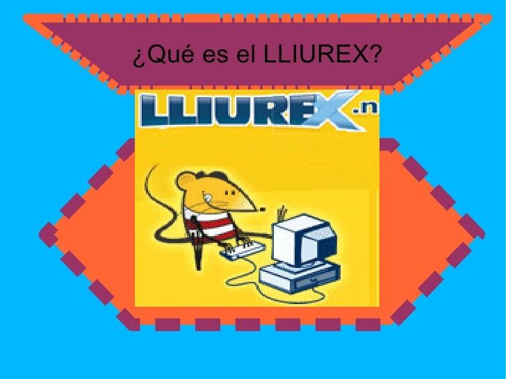 ¿Qué es el LLIUREX? Es un sistema operativo en la distribución de Linux que utiliza el entorno de  escritorio GNOME y que ...