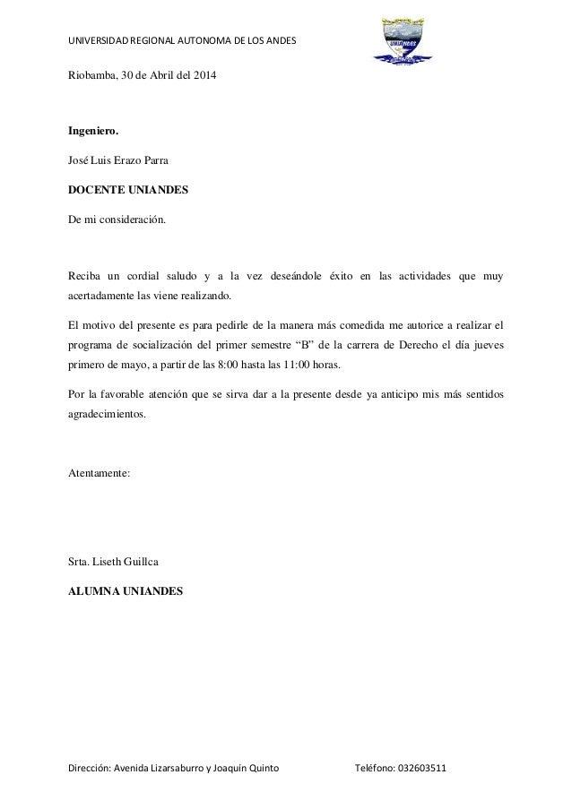 UNIVERSIDAD REGIONAL AUTONOMA DE LOS ANDES Dirección: Avenida Lizarsaburro y Joaquín Quinto Teléfono: 032603511 Riobamba, ...