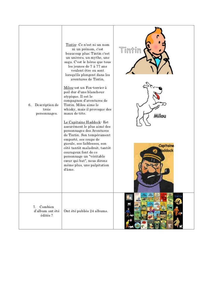 Tintin- Ce nest ni un nom                           ni un prénom, cest                      beaucoup plus; Tintin cest    ...