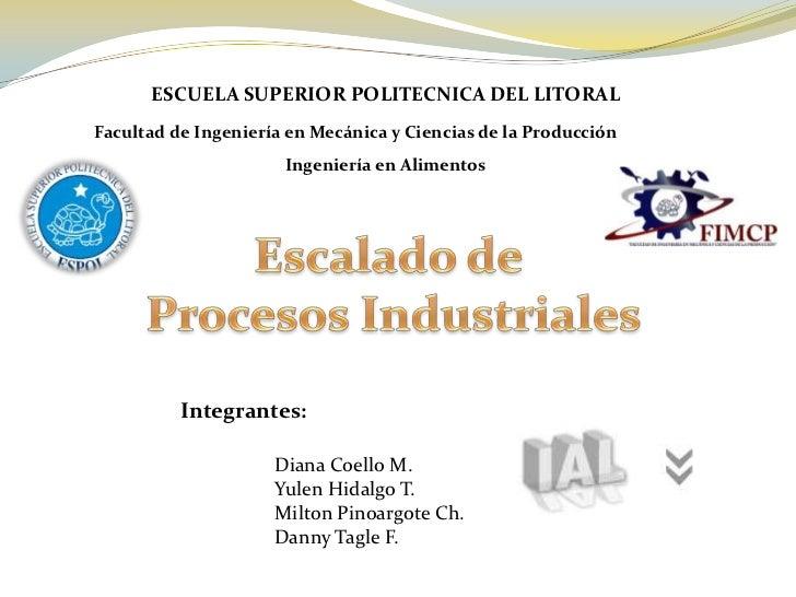ESCUELA SUPERIOR POLITECNICA DEL LITORALFacultad de Ingeniería en Mecánica y Ciencias de la Producción                    ...