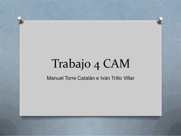 Trabajo 4 CAM Manuel Torre Catalán e Iván Trillo Villar
