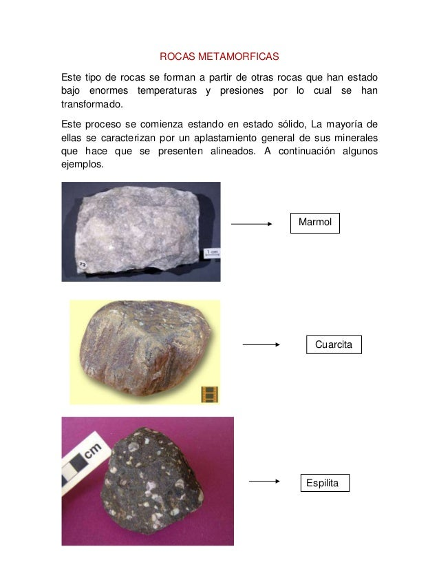 Trabajo 4 Clasificacion De Las Rocas