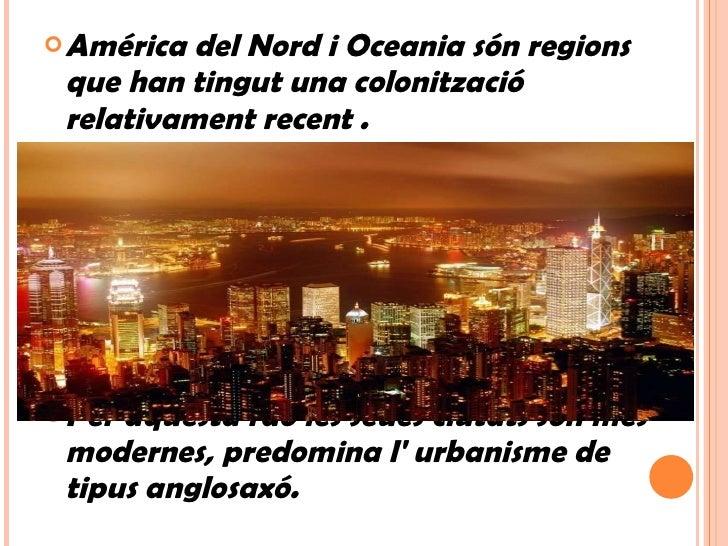 Les ciutats d'Amèrica i Oceania Slide 2
