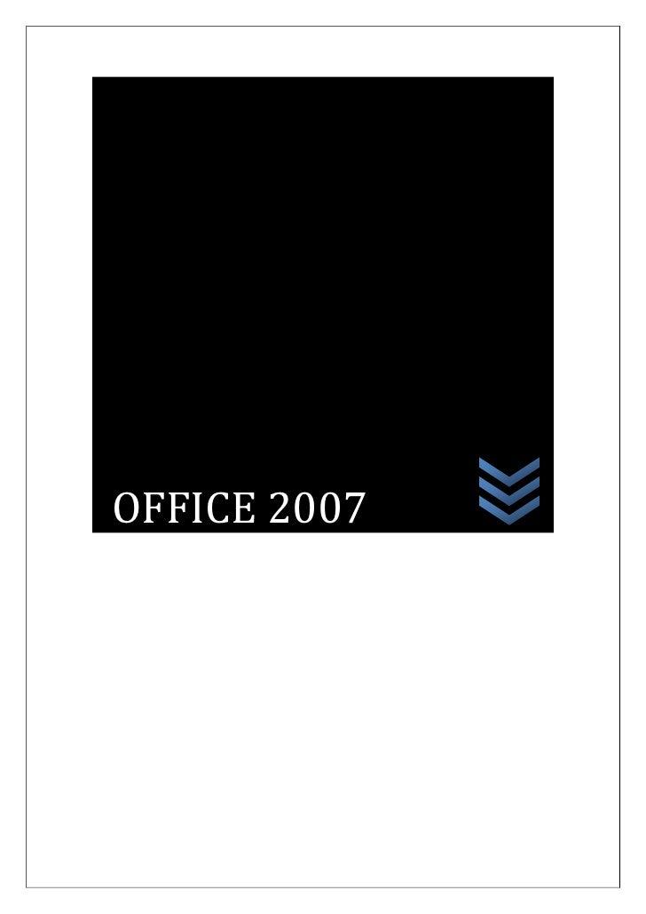 OFFICE 2007<br />PROLOGO<br />En el siguiente aparte conseguiremos obtener conocimientos<br />Mediante conceptos y dinámic...