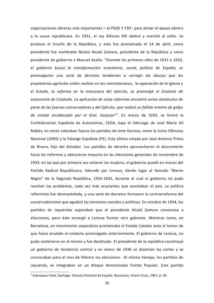 LA GUERRA CIVIL ESPAÑOLA (1936-1939) Y EL ARTE