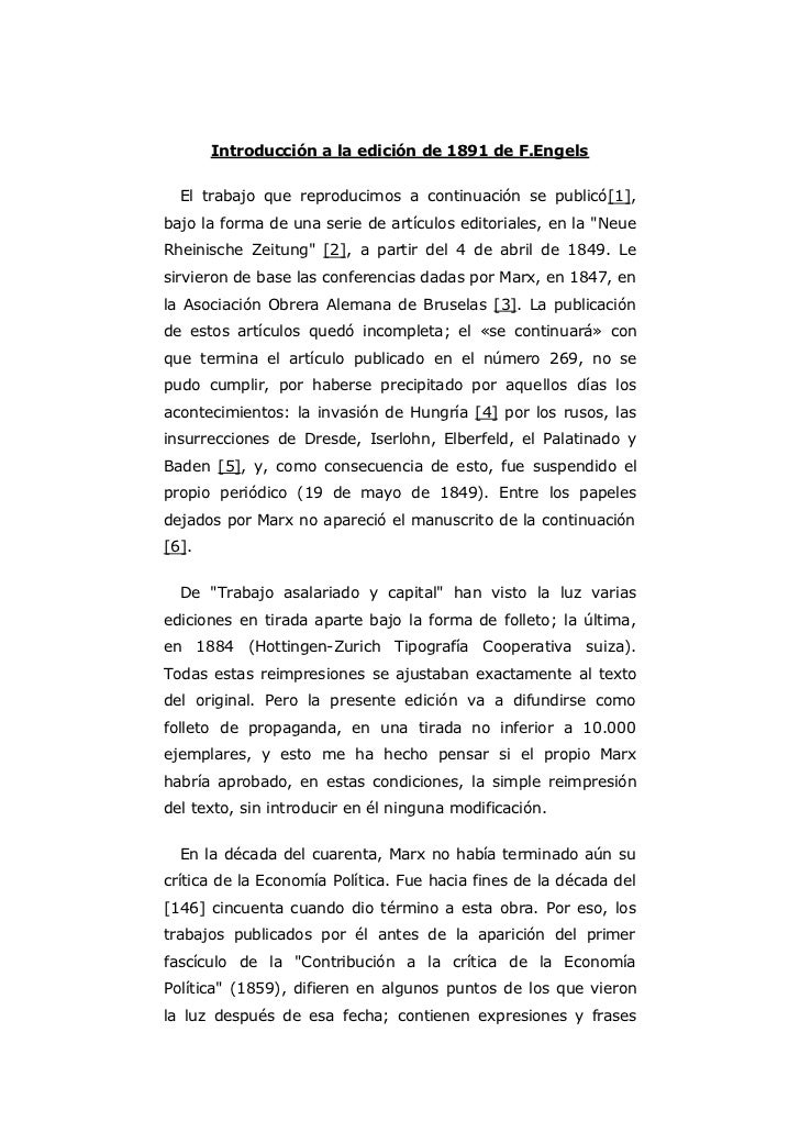 Introducción a la edición de 1891 de F.Engels  El trabajo que reproducimos a continuación se publicó[1],bajo la forma de u...