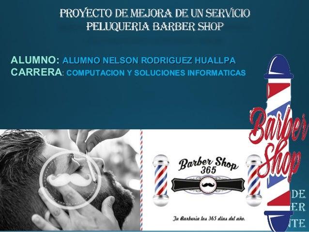 Proyecto de mejora de un servicio de peluqueria - Proyecto de peluqueria ...