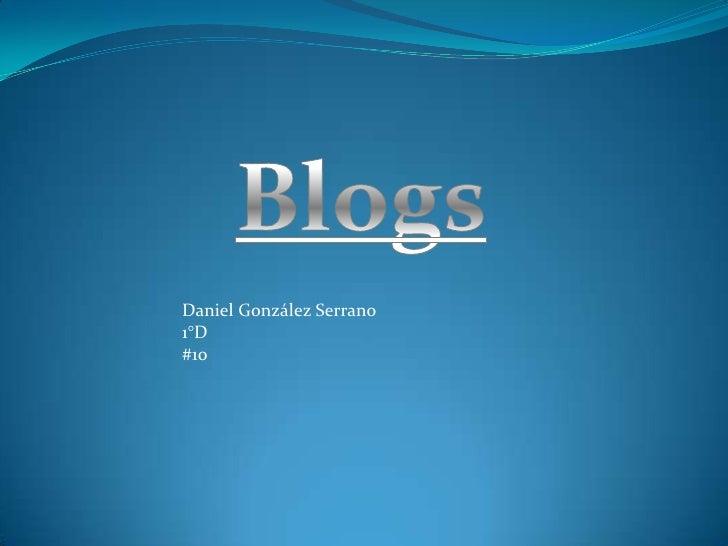 Trabajo blogs hayde