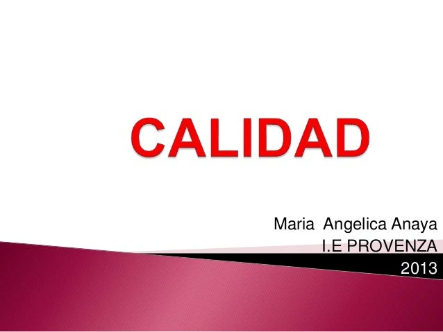 Maria Angelica Anaya I.E PROVENZA 2013