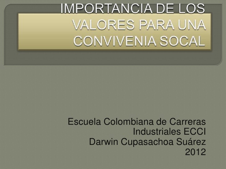 Escuela Colombiana de Carreras             Industriales ECCI    Darwin Cupasachoa Suárez                          2012