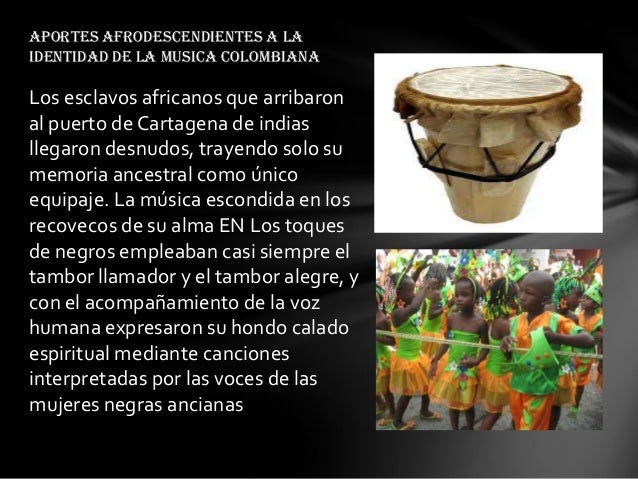 Los carnavales o festividades juegan un papel importante en los afrocolombianos ya que por medio de estos están dejando ve...