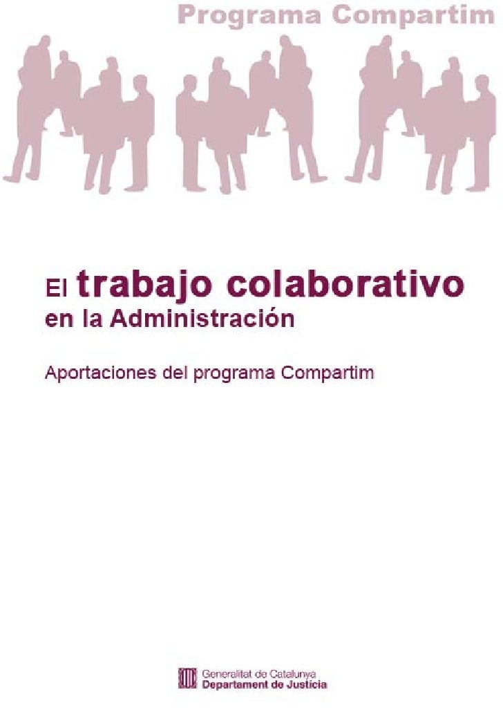 El Trabajo Colaborativo en la Administración Pública