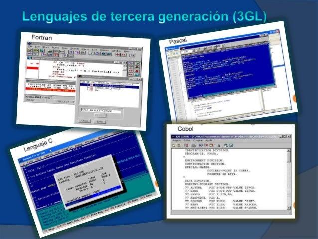 Lenguajes de propósito especial: Estos lenguajes son usados en laprogramación de propósitos específicos, caracterizados po...