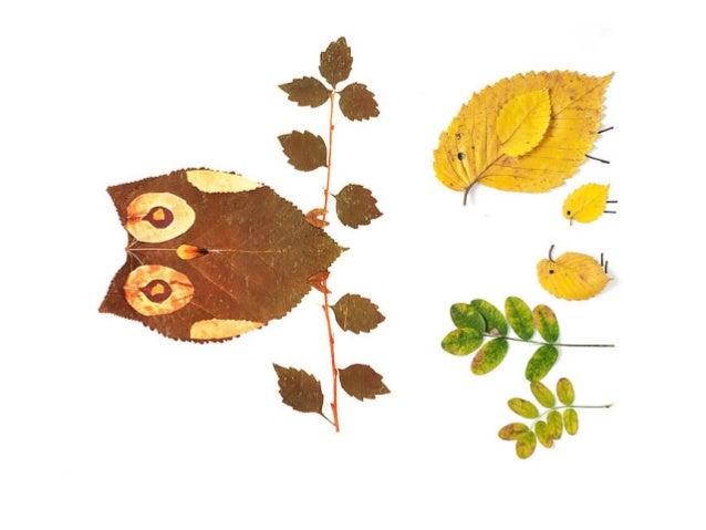 Las hojas del otoño
