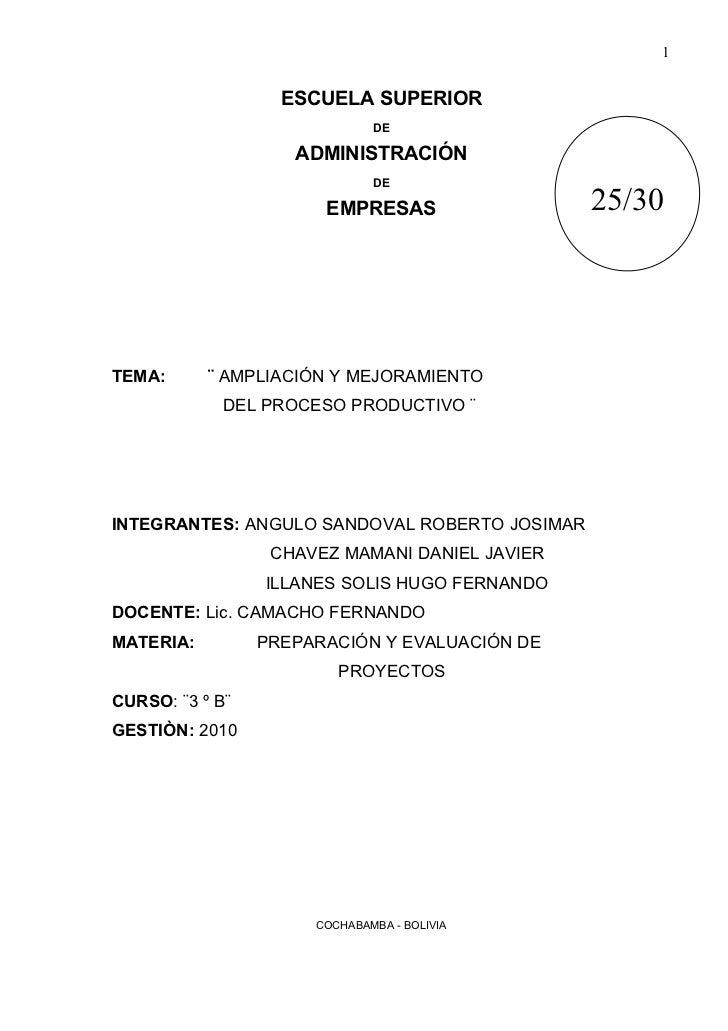 1                   ESCUELA SUPERIOR                              DE                    ADMINISTRACIÓN                    ...