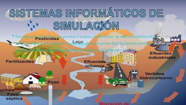 • Son programas informáticos que permiten el análisis y la elaboración de modelos predictivos en los estudios ambientales....