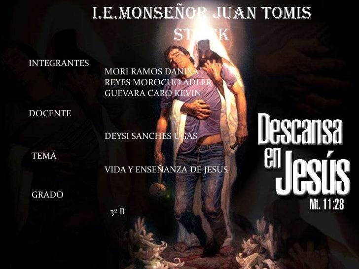 I.E.MONSEÑOR JUAN TOMIS STACK<br />INTEGRANTES<br />MORI RAMOS DANIXA<br />REYES MOROCHO ADLER<br />GUEVARA CARO KEVIN<br ...