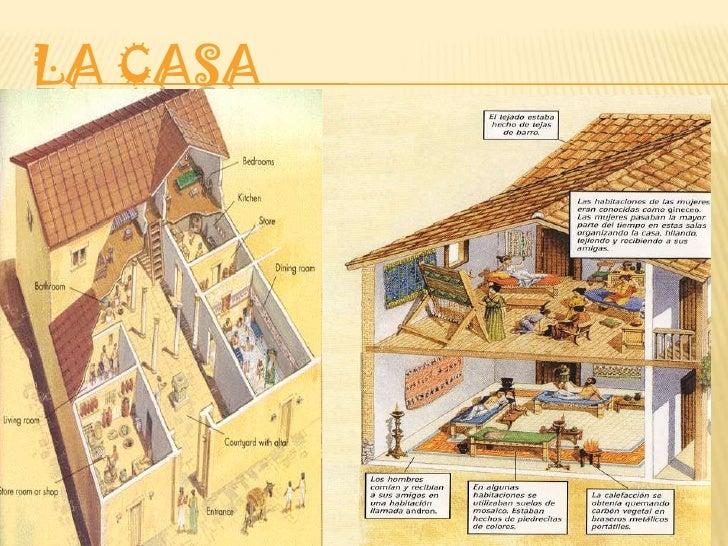 Presentaci n lidia pi uela 3 de la eso ies felipe trigo Casas griegas antiguas