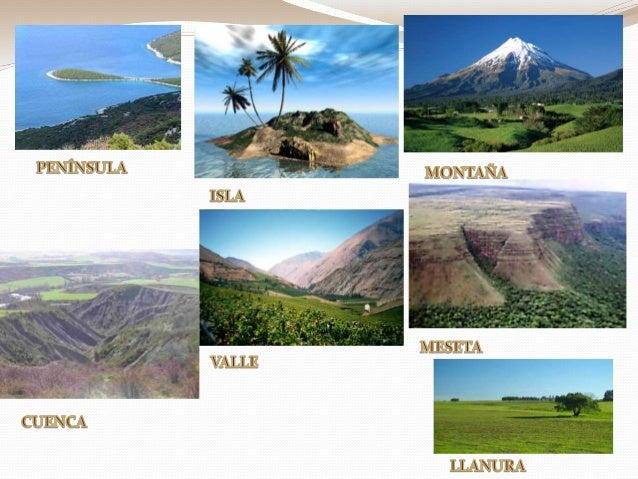 El relieve continental - Fotos de relieve ...