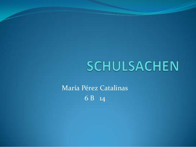 María Pérez Catalinas6 B 14