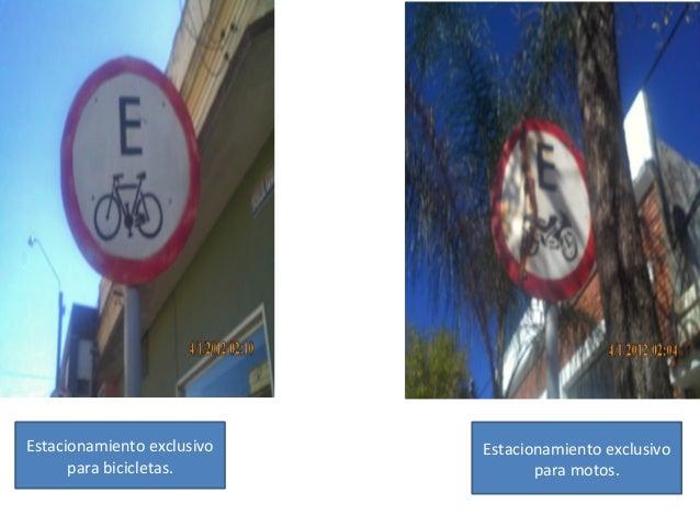 Estacionamiento exclusivo para bicicletas. Estacionamiento exclusivo para motos.