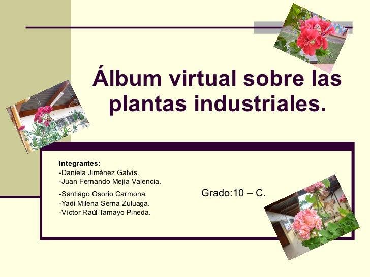 Albun virtual plantas industriales - Cosas sobre las plantas ...