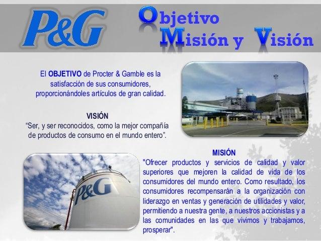 cultura organizacional en procter and gamble Procter & gamble también conocida como p&g es una empresa estadounidense  multinacional de bienes de consumo con sede en cincinnati, ohio.