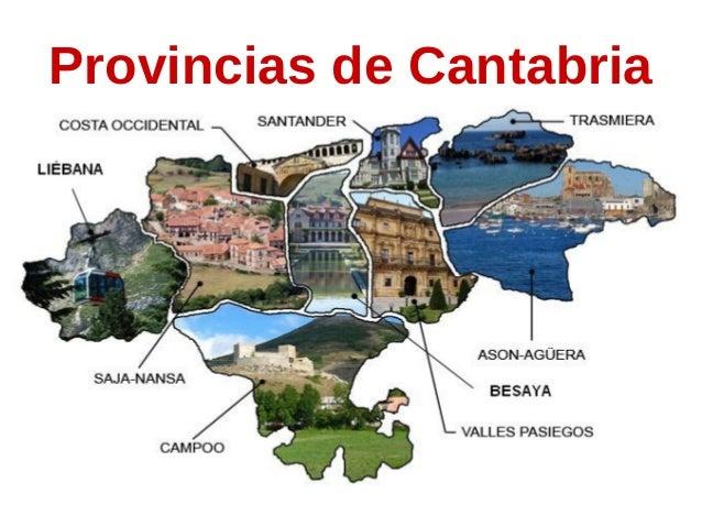 Provincias de Cantabria