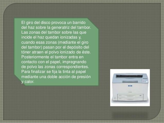 Para la impresión láser monocroma se hace uso de un único tóner. Si la impresión es en color es necesario contar con cuatr...