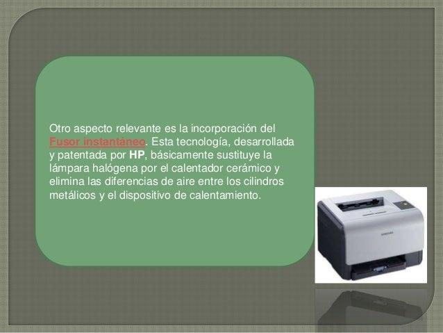 Aumenta la productividad con la impresión rápida de la primera. Por ejemplo: en fusores anteriores, para imprimir 5 página...