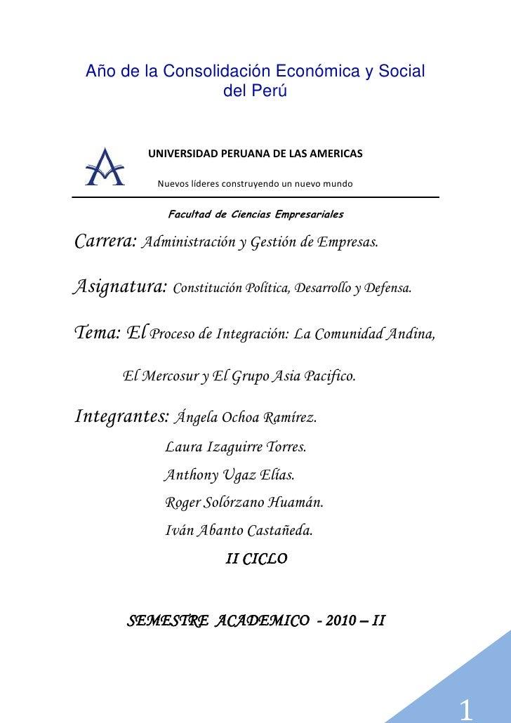 Año de la Consolidación Económica y Social del Perú<br />186690687705<br />UNIVERSIDAD PERUANA DE LAS AMERICAS<br />Nuevos...